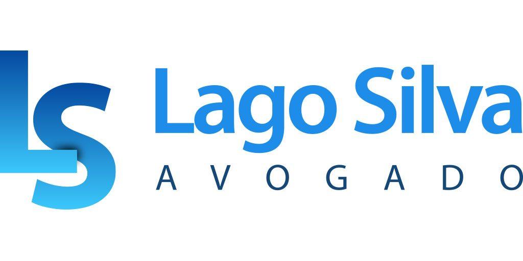 """Logo del despacho de abogados """"Lago Silva Avogado"""". ubicado en A Guarda."""